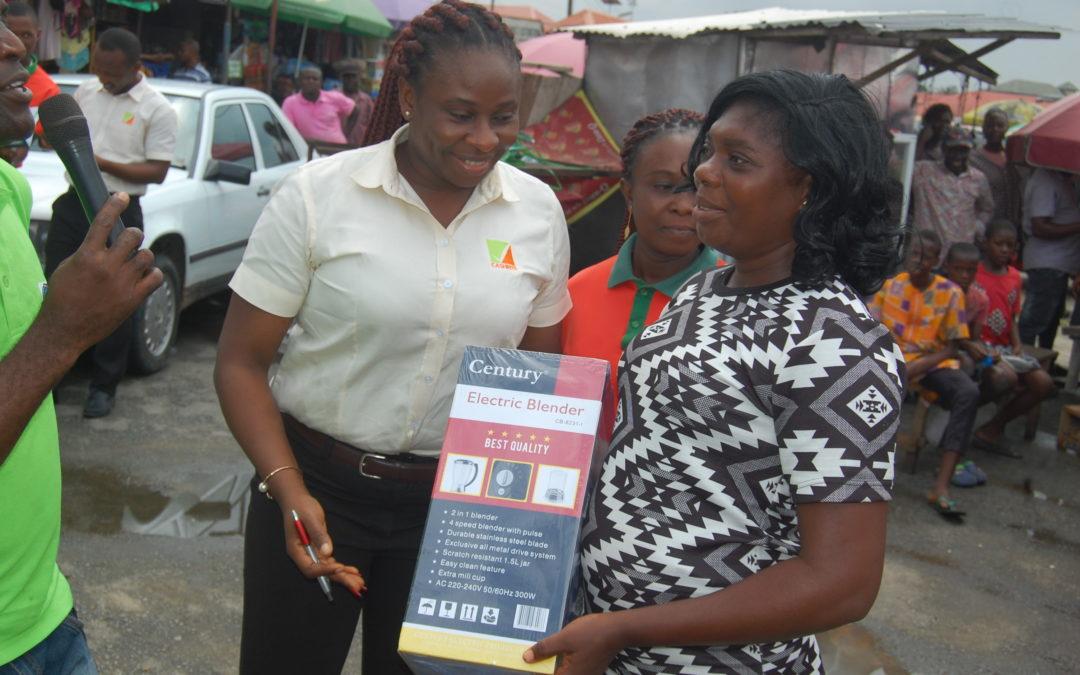 First Phase of Nyafu-Nyafu Savings Promo